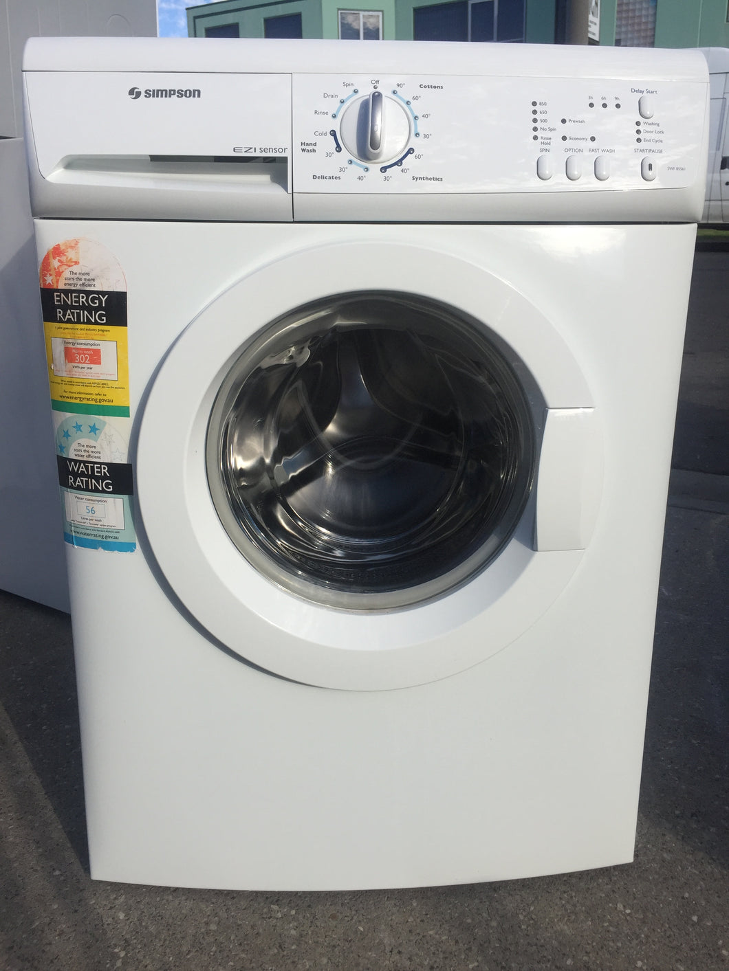 Simpson 5.5kg Front Loader - DMS Appliances