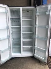 Westinghouse 606L Stainless Steel Side By Side Fridge