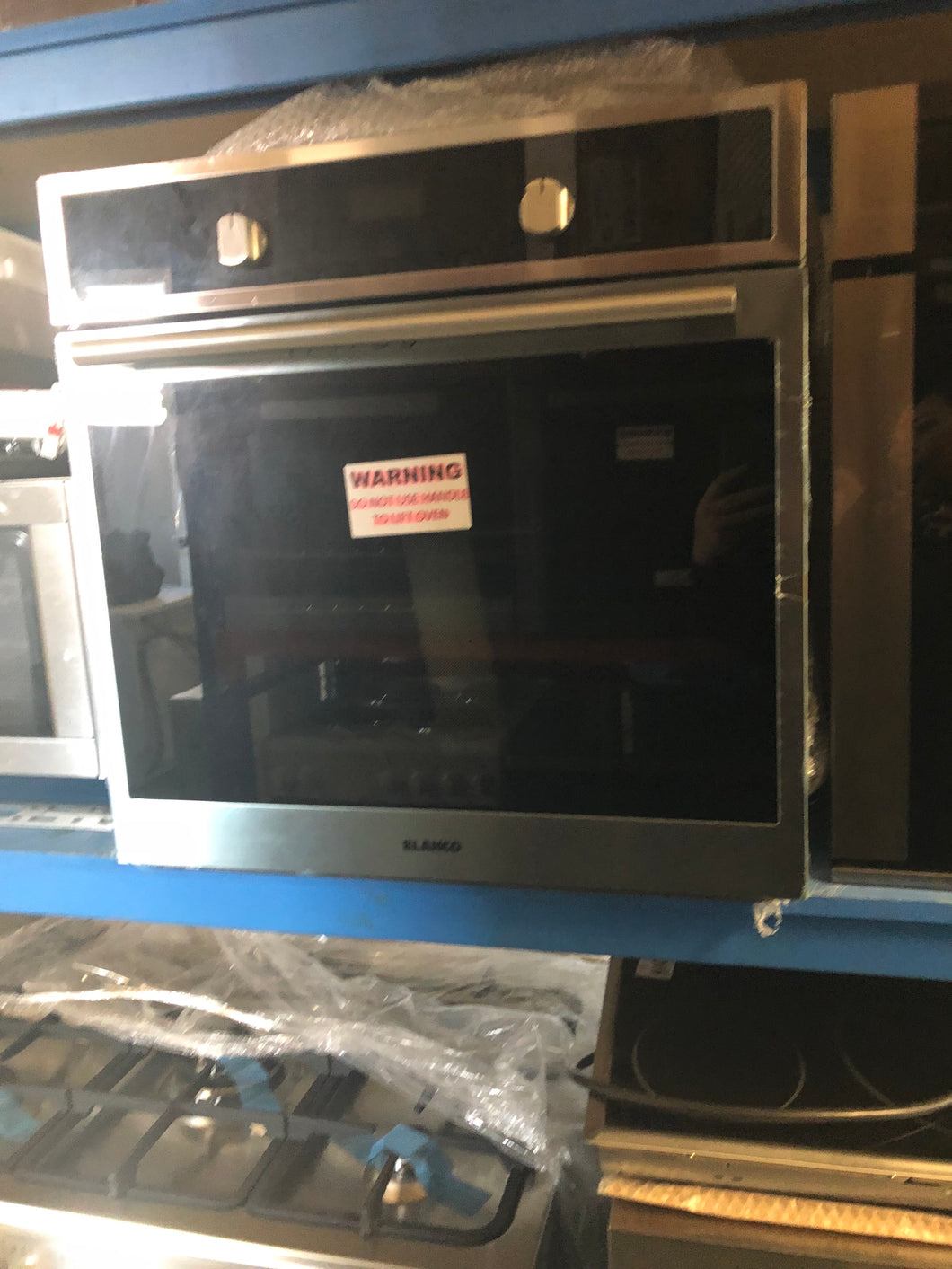 Blanco 600mm  Electric Fan Forced Wall Oven-FACTORY SECONDS - DMS Appliances
