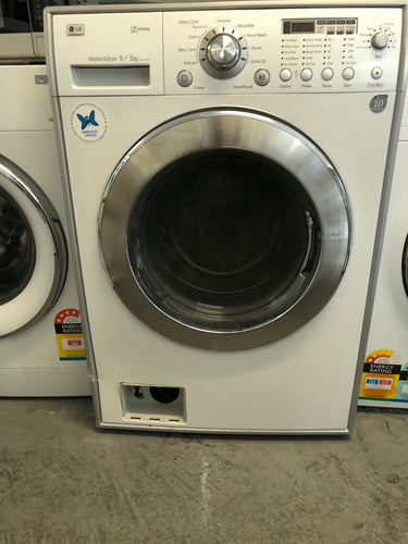 Lg 9kg/5kg Washer Dryer Combo (Front loader) - Oversized dimensions