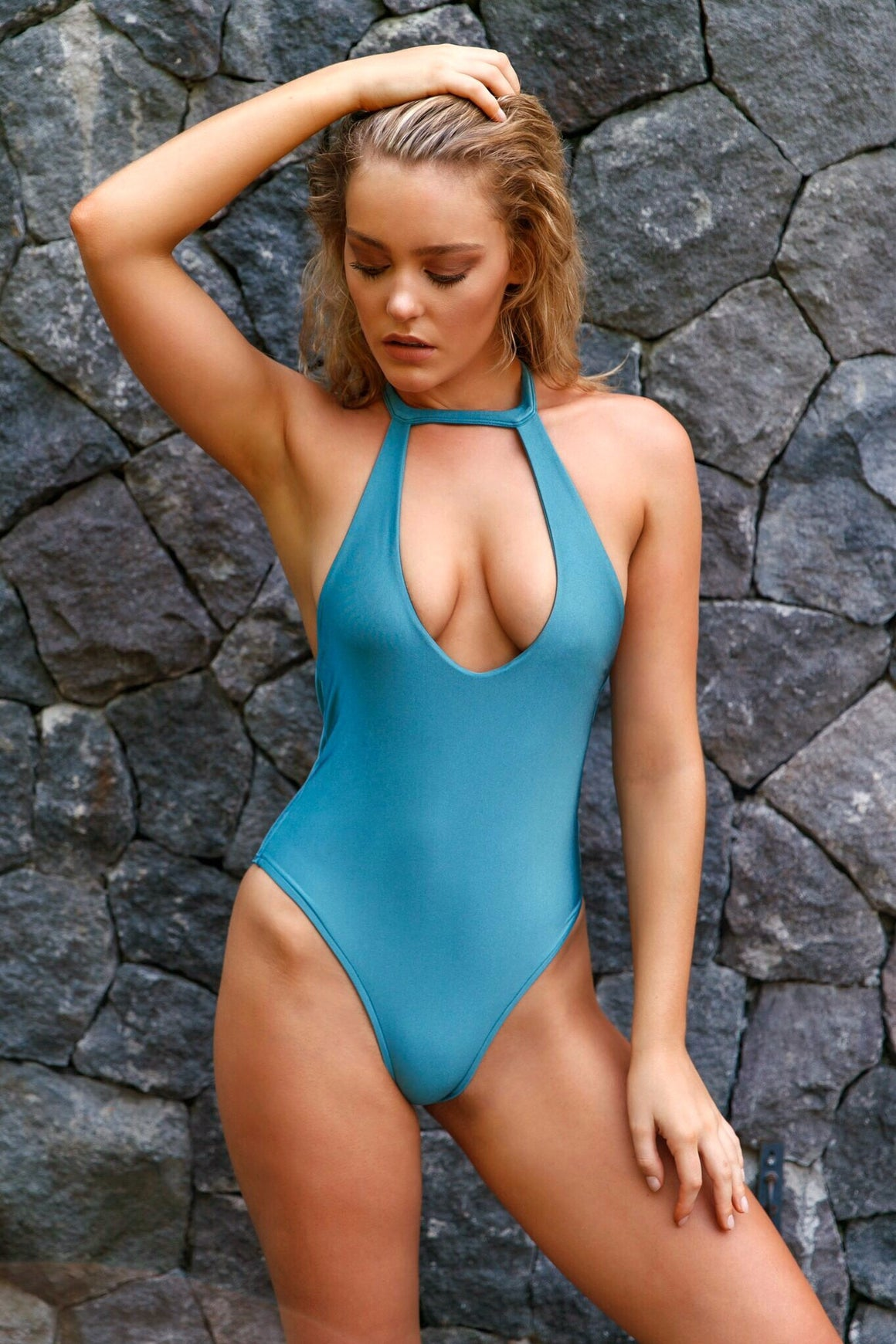 Dusk One Piece - Teal
