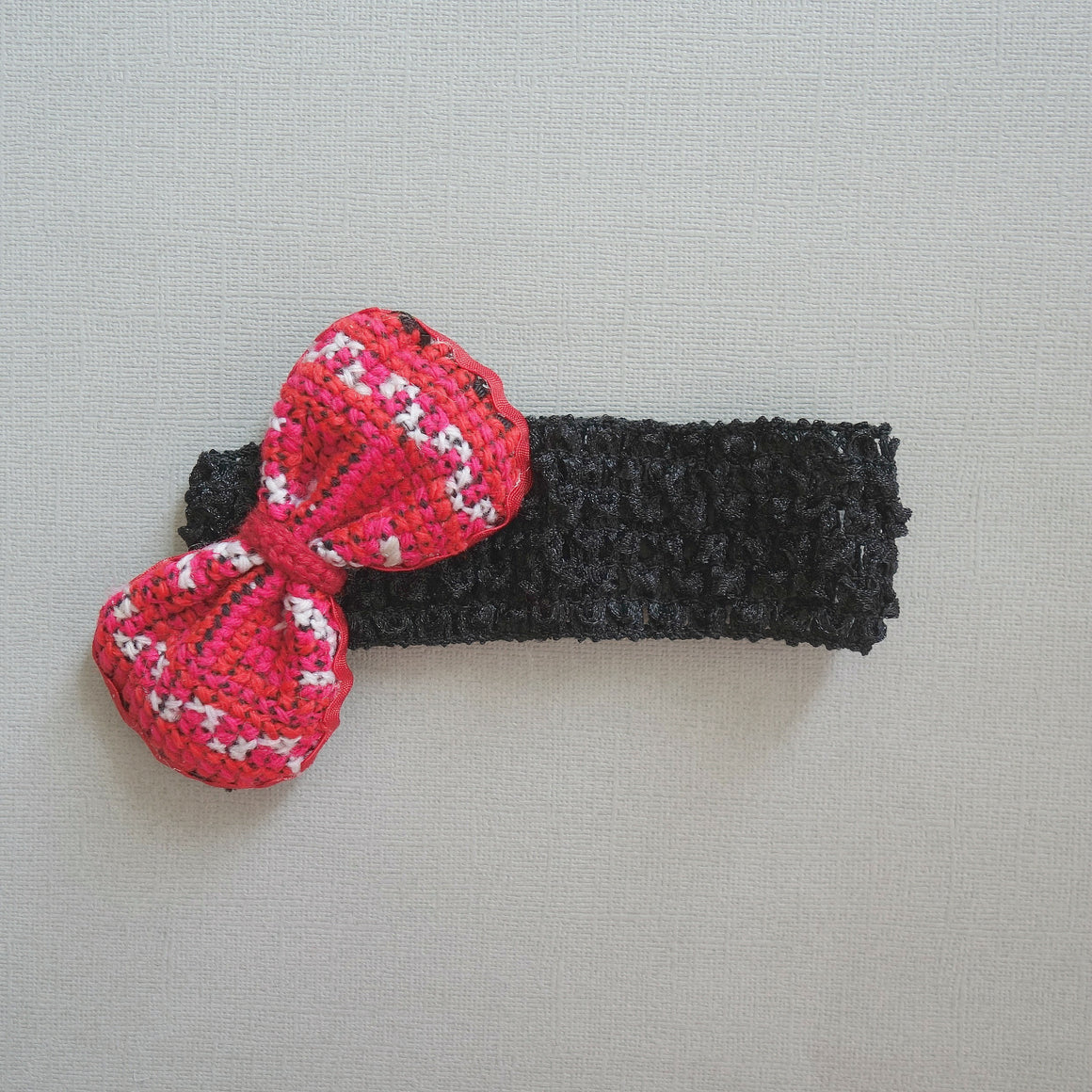 Minnie Mouse Hmong embroidered baby headband