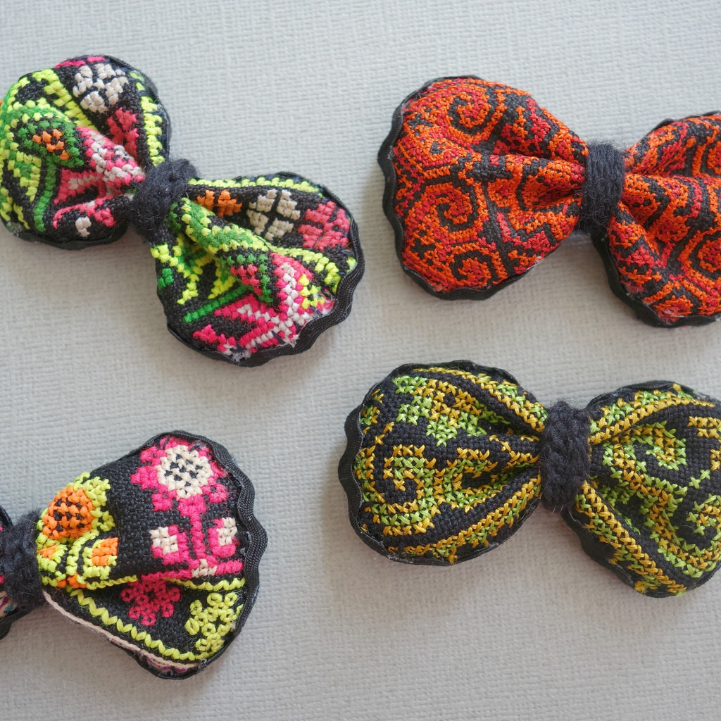 Hmong Hand Embroidered Hair tie
