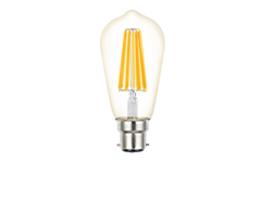 Filament ST64 LED dimmable full glass lamps