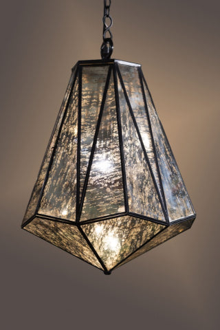 Caesar Glass Hanging Lamp