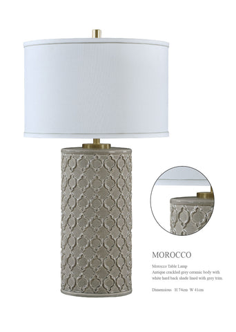 MOROCCO TABLE LAMP