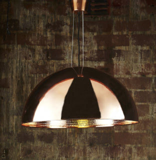 Alfresco Dome Ceiling Lamp Copper