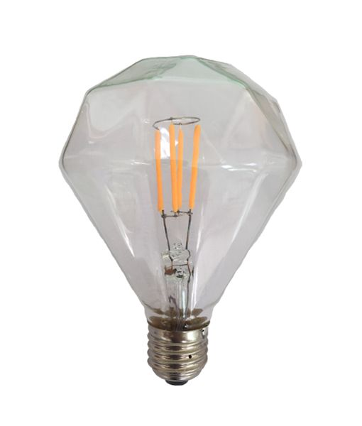 Diamond Shape LED filament globes