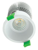 DEEP-75 RND 10W LED KIT WHT