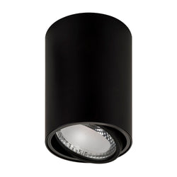 Nella Adjustable Aluminium black 12w LED Trio