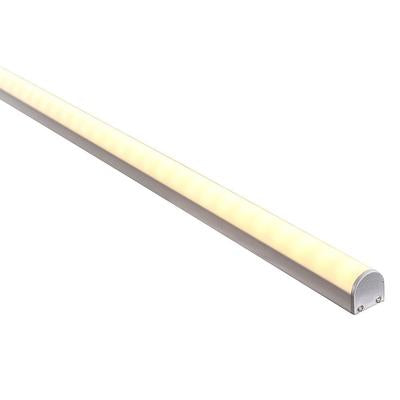 HV9690-2119 - Silver Aluminium Profile with Rounded Diffuser