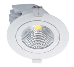 SCOOP-25 RND 25W LED KIT WHT