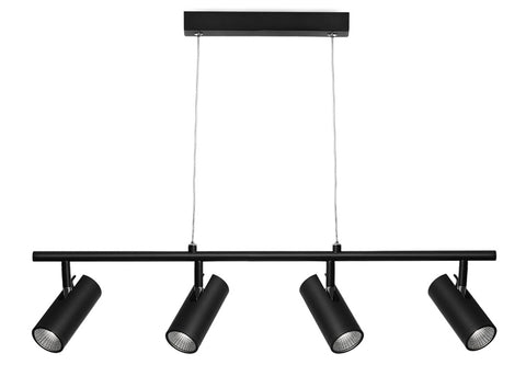 Urban 4lt Pendant Black