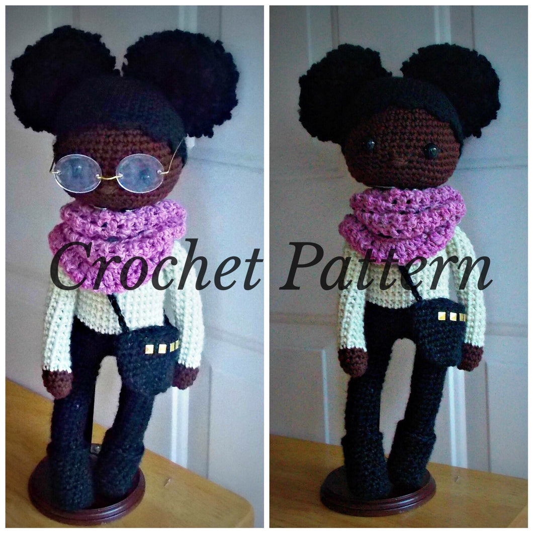 African American Doll Pattern