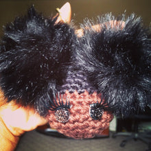 Luxe Afro Puffs Keychain