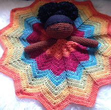 Bedtime Mia ~ Afro Puff(s) Lovey Blanket