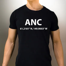 ANC Anchorage Alaska T-Shirt - Unisex