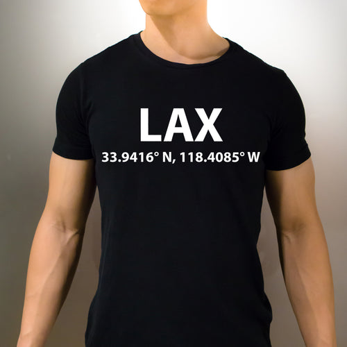 LAX Los Angeles T-Shirt - Unisex