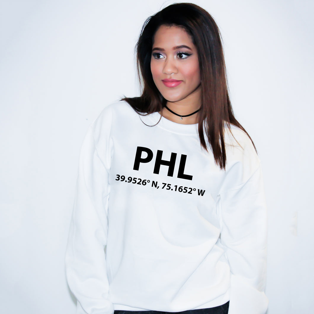 PHL Philadelphia Pennsylvania Sweater - Unisex