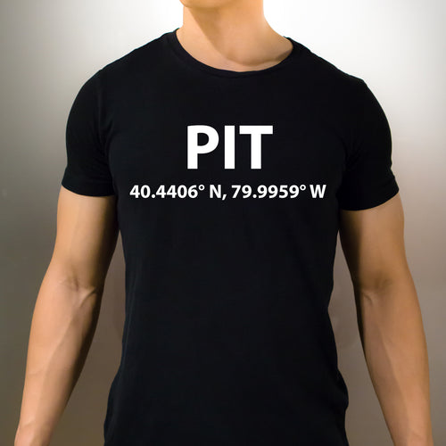 PIT Pittsburgh Pennsylvania T-Shirt - Unisex
