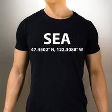 SEA Seattle Washington T-Shirt - Unisex