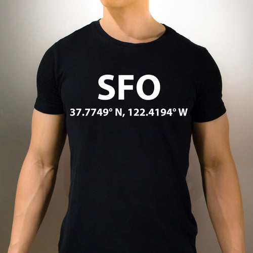 SFO San Francisco California T-Shirt - Unisex