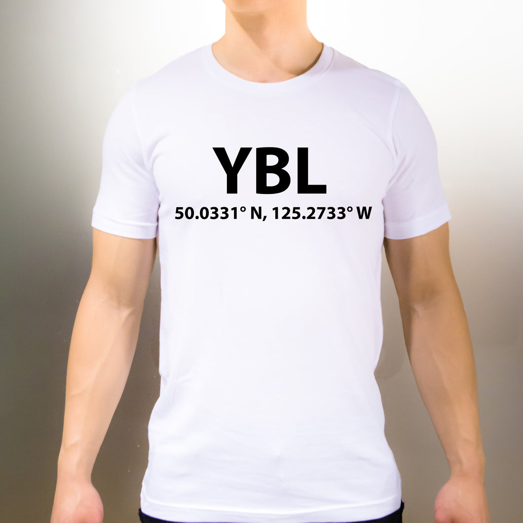 YBL Campbell River British Columbia T-Shirt - Unisex