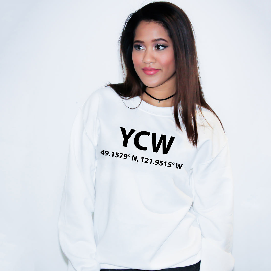 YCW Chilliwack British Columbia Sweater - Unisex