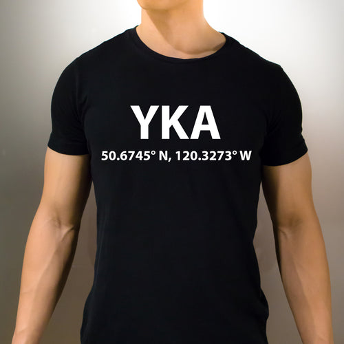 YKA Kamloops British Columbia T-Shirt - Unisex