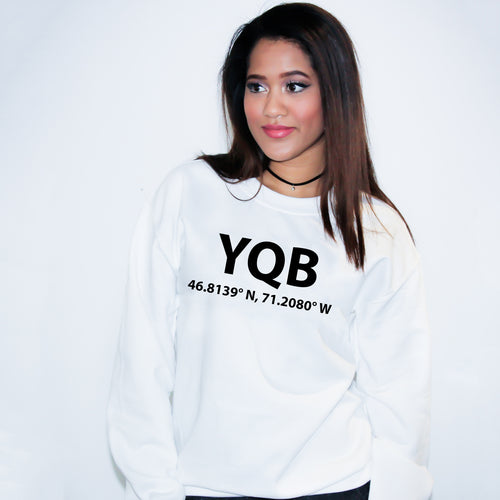 YQB Quebec City Sweater - Unisex