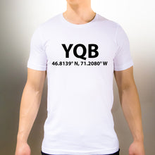 YQB Quebec City T-Shirt - Unisex