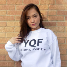 YQF Red Deer Sweater White Unisex Marquee Noir MN