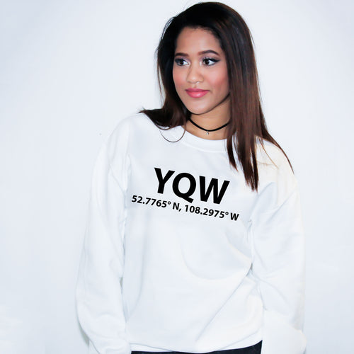 YQW North Battlefield Saskatchewan Sweater - Unisex