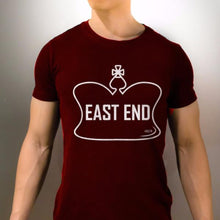 East End T-Shirt Unisex Cardinal Red Marquee Noir MN Toronto