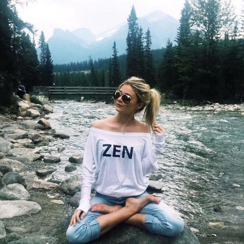 Fitness Inspired Zen Top - Ladies