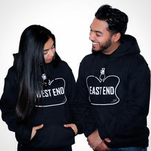 West End Hoodie Unisex Black Marquee Noir Toronto