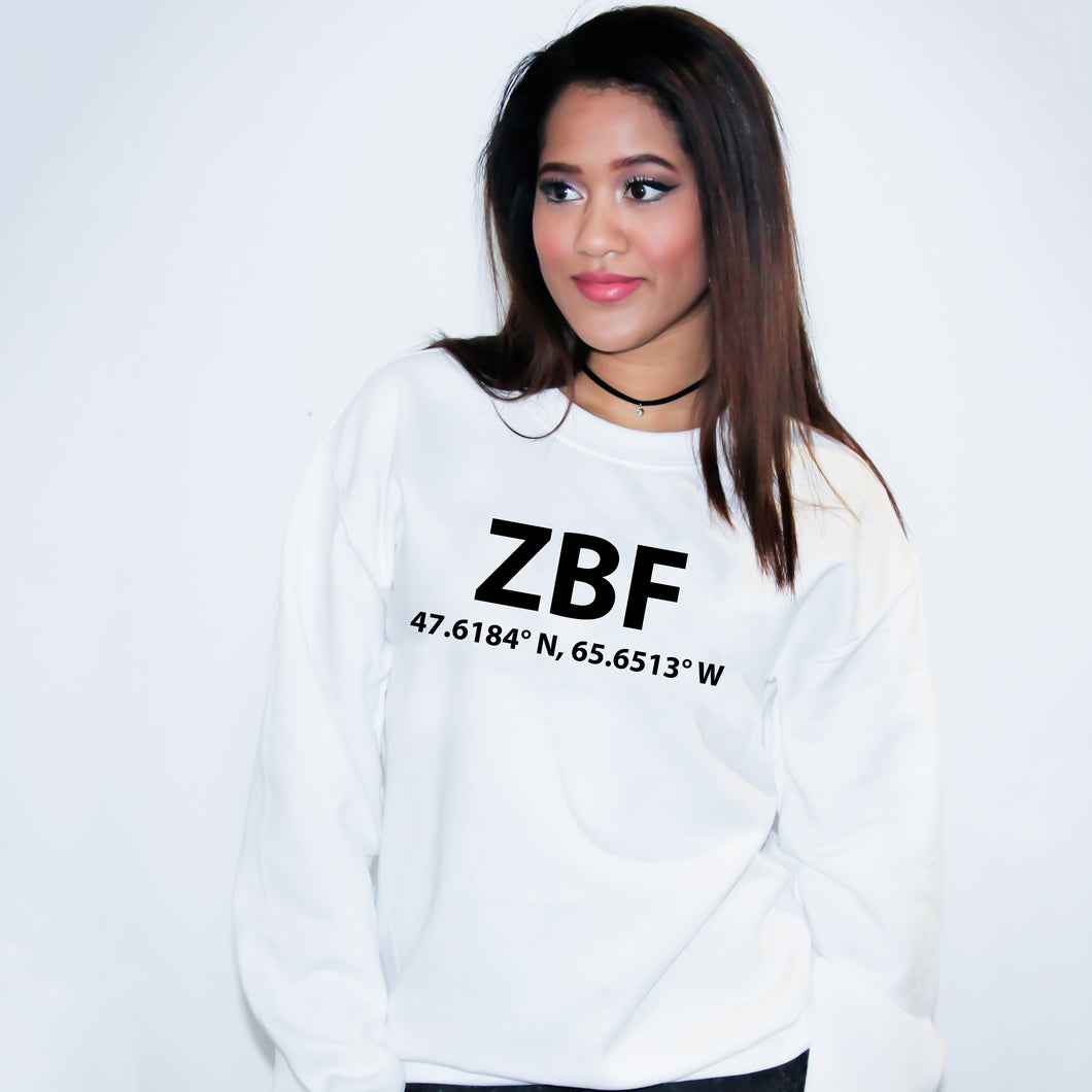 ZBF Bathurst New Brunswick  Sweater - Unisex
