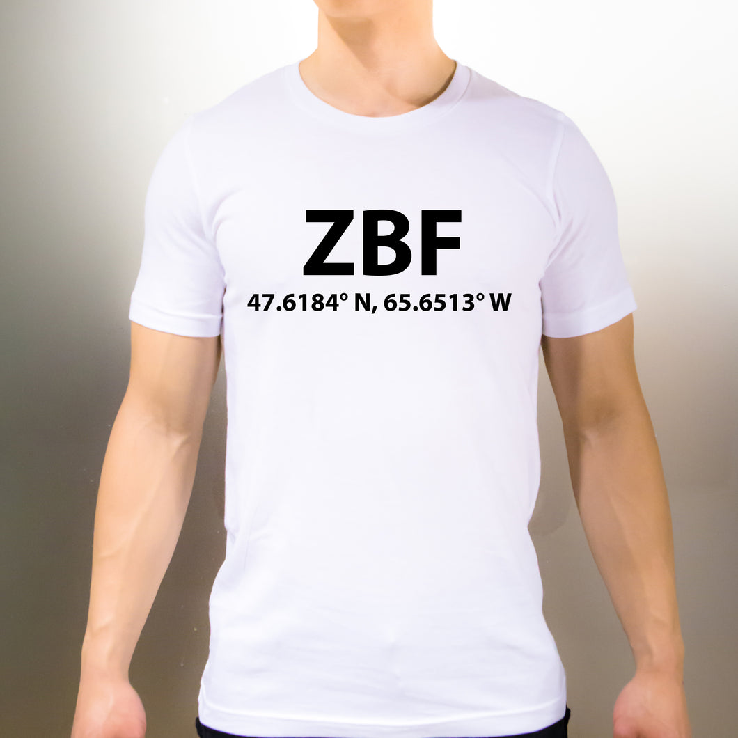 574c576c29 ZBF Bathurst New Brunswick T-Shirt - Unisex