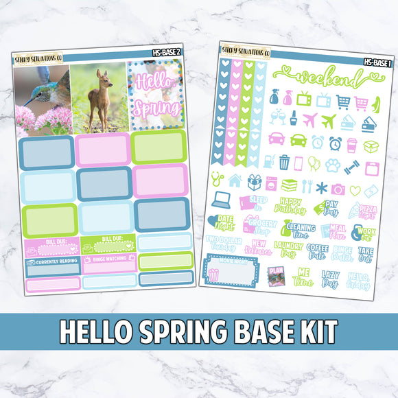 Hello, Spring Base Kit