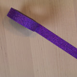 Purple Glitter Washi Tape