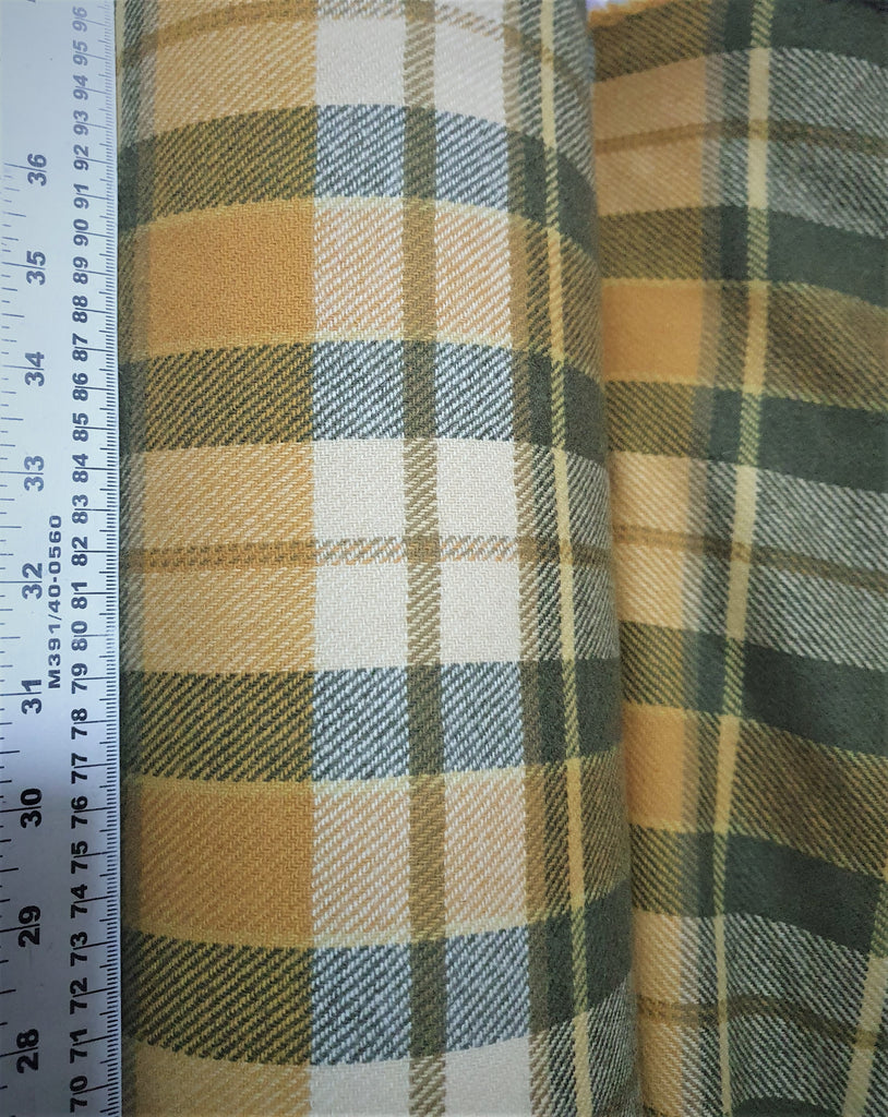 New Pure Lambswool tartan fabric by Joshua Ellis Made In England 150 cm wide