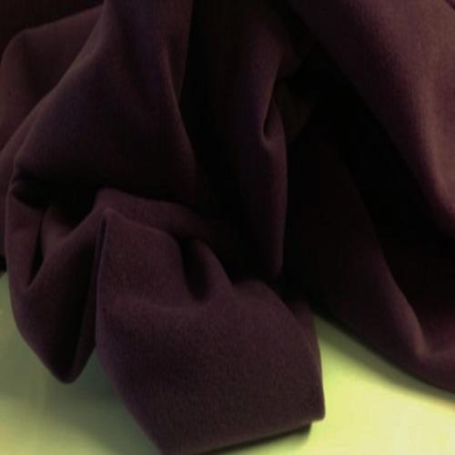 Heavy Italian Plum wool velour SUIT,COATING FABRIC 150cm wide