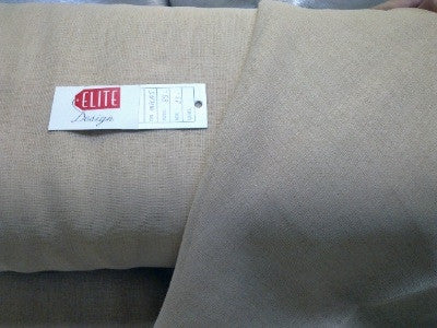 LINUM CURTAIN FABRICS PLAIN BEIGE COLOUR  310CM WIDE