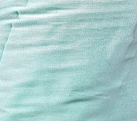 2021 COLLECTION  Pure IRISH LINEN Mint fabric  150 cm wide