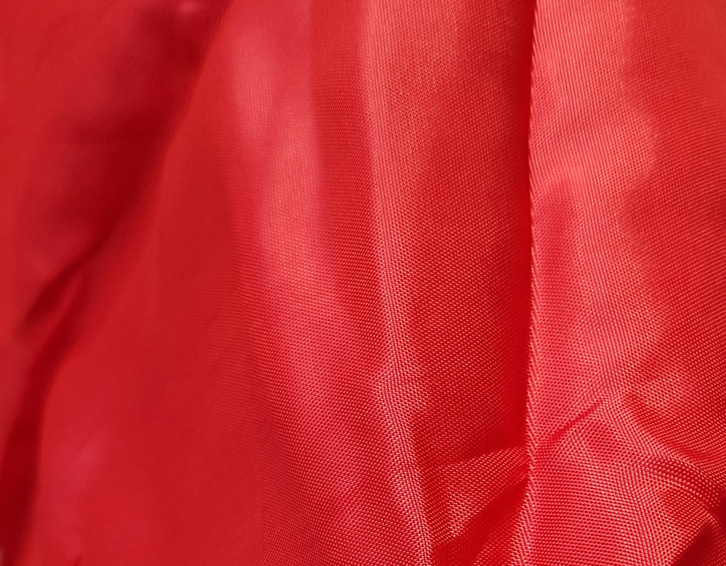 TOP QUALITY SATIN  RED   LINING  FOR COAT/SUIT  150 cm