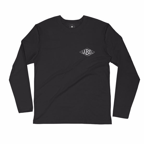 Long Sleeve Logic Tee - Piano Black