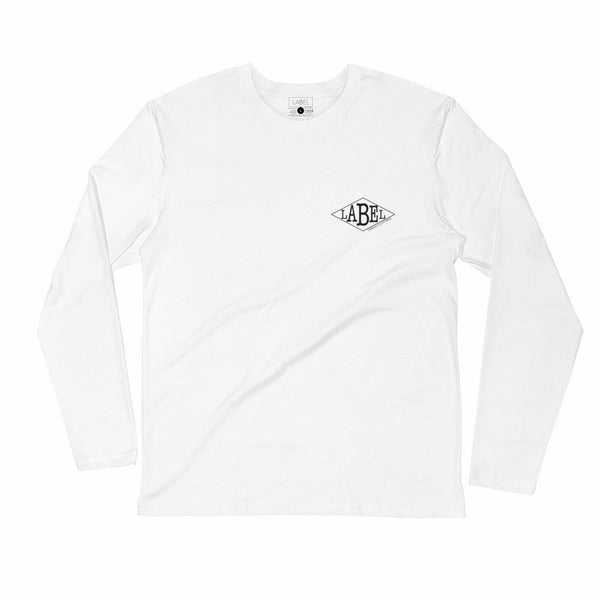 Long-Sleeve Logic Tee - Himalayan Snow
