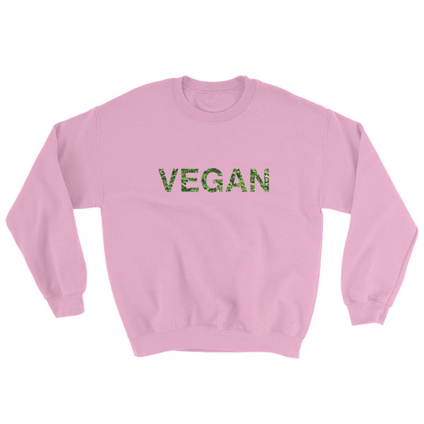 Vegan Sweatshirt - Sugar Pink