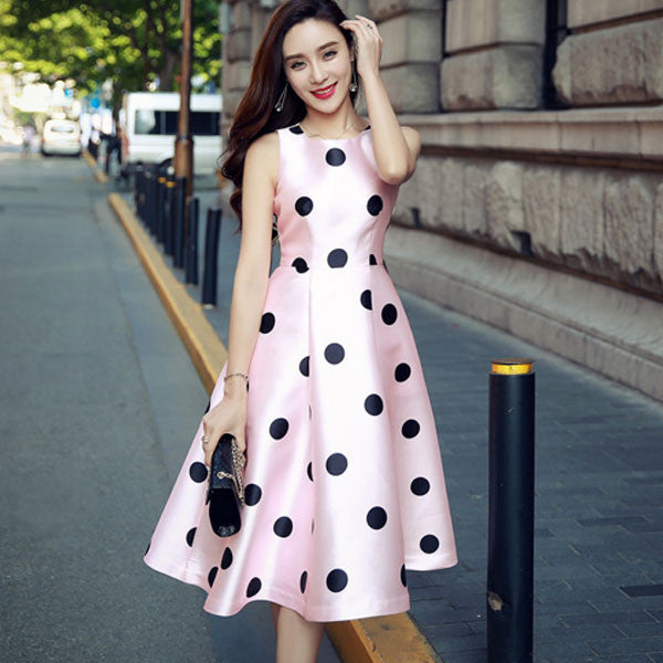 Dotted Sweet Pink