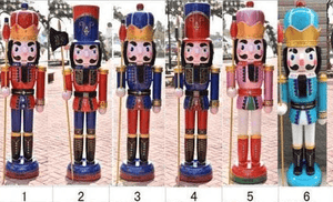 Christmas Nutcracker 180cm Soldiers Set of 2